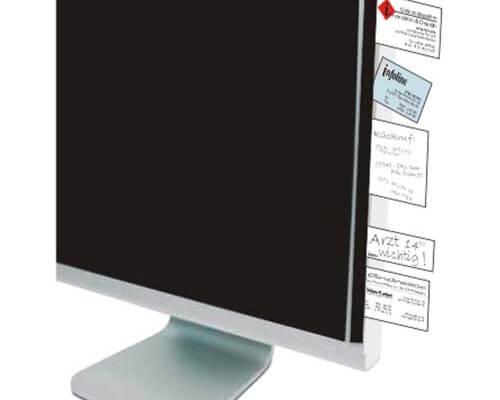Infoline die Notitz Klemmleiste für den Monitor