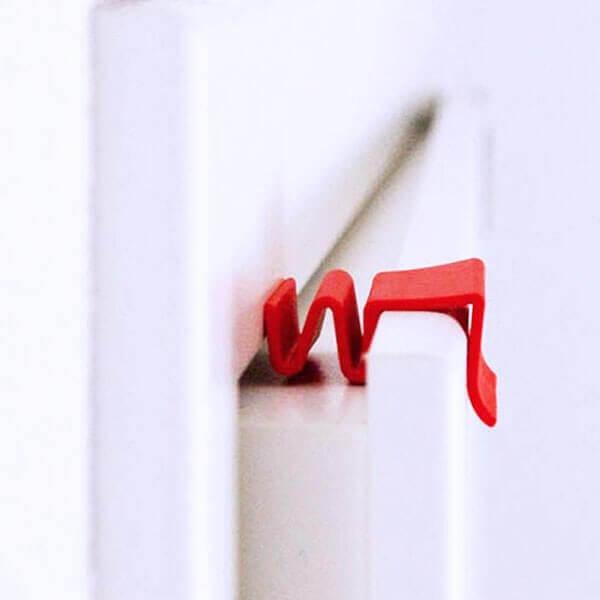 ClipUp Türspalt und Türpuffer als Einzel-Variante