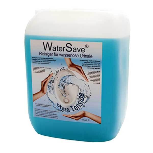 WaterSave Urinalreiniger Konzentrat 5 Liter Kanister biologischer Reiniger für wasserlose Urinale